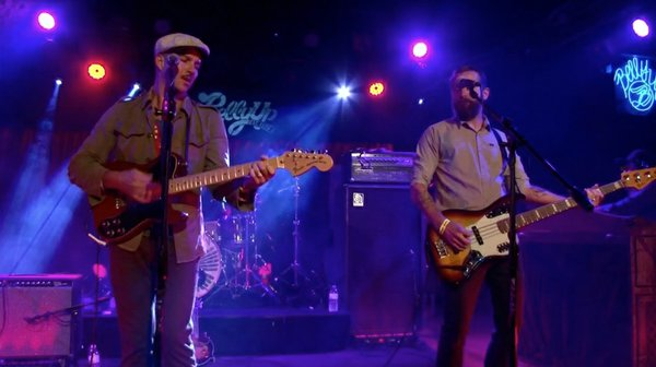 The Drowning Men perform live at the Belly Up Tavern.