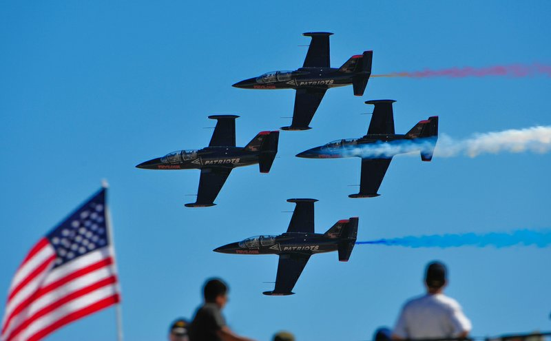 Jets perform at the MCAS Miramar Air Show.