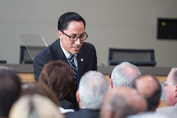 San Diego Interim Mayor Todd Gloria at 2014 State of the ...