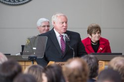 San Diego County Board of Supervisors Vice Chair Bill Horn at 2014 State of t...