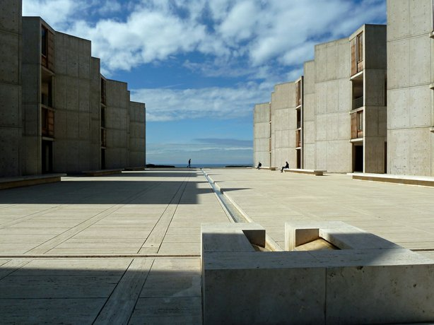 The campus of the Salk Institute is shown in this undated photo.