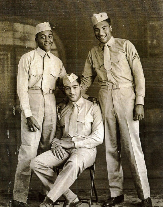 Montford Point Marines, circa 1940s. Sergeant Carrel Reav...