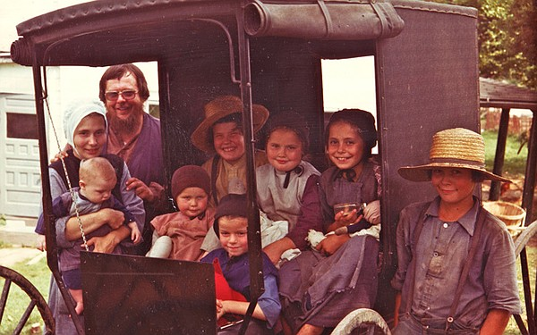 Edwards family photo taken in August 1977. Although the family is dressed in ...
