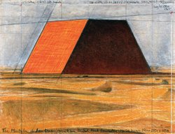 The Mastaba of Abu Dhabi (Project for United Arab Emirates) , Drawing 2007 