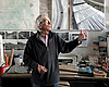 Christo Talks About His Artwork, Jeanne-Claude And Garlic