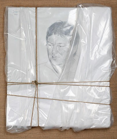 Christo did this portrait of David Copley, who had the largest private collec...