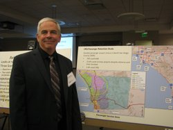 Vince Hourigan, Project Manager of the Palomar Airport Master Plan Update.  Feb 5th 2014