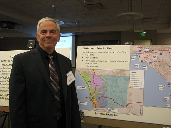 Vince Hourigan, Project Manager of the Palomar Airport Ma...