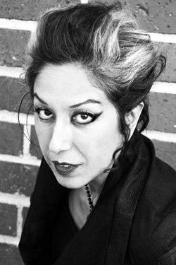 Punk rock singer, author, educator and feminist activist Alice Bag.