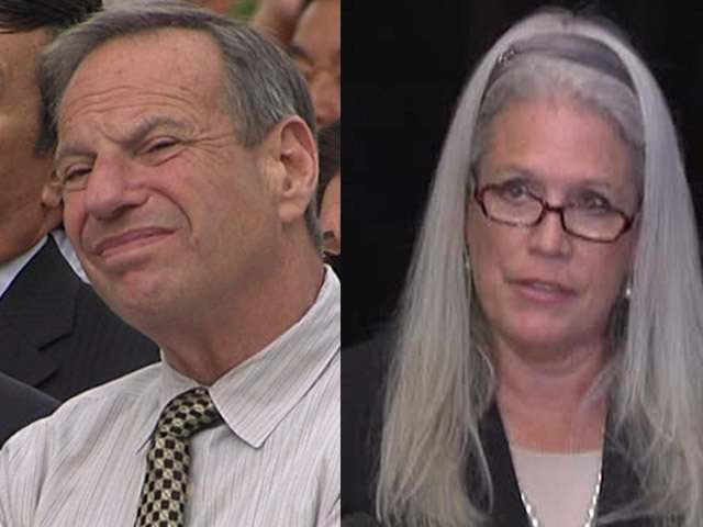 Disgraced former San Diego Mayor Bob Filner and Filner's ex-communications di...