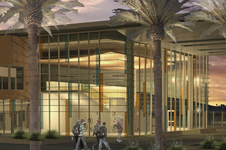 An artist's rendering of the Design 39 Campus.