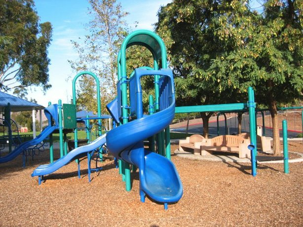 This playground at the Otay Lakes County Park is one of the county's park ame...