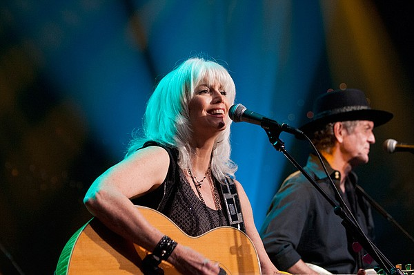 Country legends Emmylou Harris and Rodney Crowell play fa...