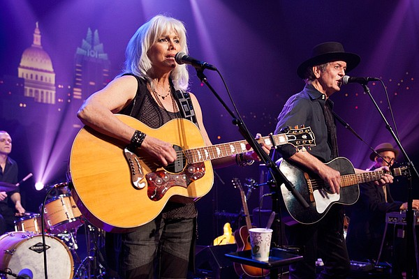 Country legends Emmylou Harris and Rodney Crowell play favorites and songs fr...