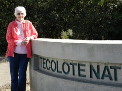 Women's History Month Local Hero, M. Eloise Battle, helps preserve the ecosystem of Tecolote Canyon.