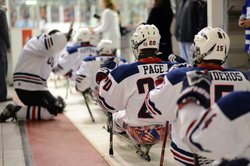 "USA Sled Hockey Team. This program portrays the United States Ice Sled Hockey team as it prepares to compete in the Winter Paralympics in a sport called ""murderball on blades."""