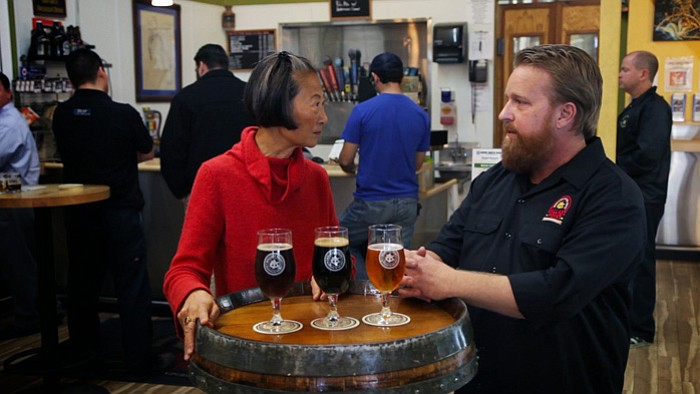 Chef Su-Mei Yu and Colby Chandler at Ballast Po... ()