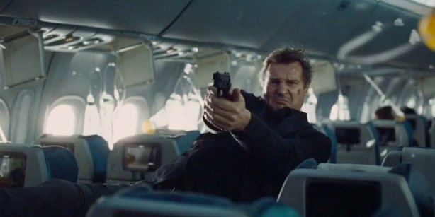 "Liam Neeson plays an U.S. air marshal having a very bad day in the aptly named ""Non-Stop,"" which open on Feb. 28."