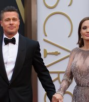 Hollywood royalty: Brad Pitt and Angelina Jolie. That's a lot of combined box office power on the red carper.