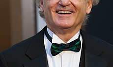 Bill Murray looked an awful lot like his Scrooge character. He had the night's best moment when he remembered the late Harold Ramis.