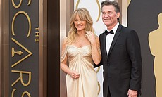 Hollywood couples: Goldie Hawn and Kurt Russell.