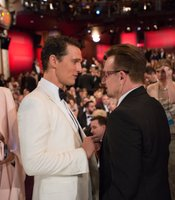 Oscar winner Matthew McConaughey and Oscar nominee Bono.