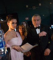Backstage Penelope Cruz and Robert DeNiro didn't looked thrilled. Neither were many of the viewers slogging through the 3 hour plus telecast.