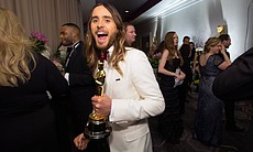 Happy winner Jared Leto.