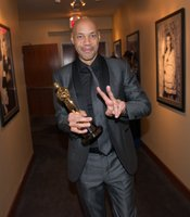 Backstage with Best Adapted Screenplay winner John Ridley.