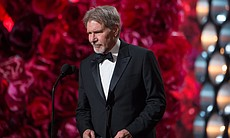 "Harrison Ford seemed so bored that when he used the words ""euphoric"" and ""exhilarating"" it felt like an oxymoron."