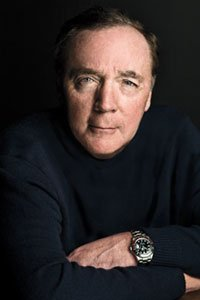 A portrait of author James Patterson, who is best known for his mystery series on protagonist Alex Cross.
