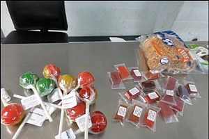 Border Patrol Seizes Drug-Laced Lollipops At San Clemente...