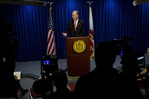 Kevin Faulconer Meeting With Tijuana Mayor To Discuss Bor...