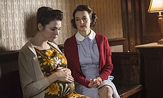 Doris Aston as Seline Hizli and Jessica Raine as Jenny Lee.