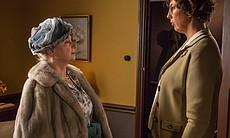 Cheryl Campbell as Lady Browne and Miranda Hart as Chummy Noakes.