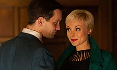 Jack Ashton as Tom Hereward and Helen George as Trixie Franklin.