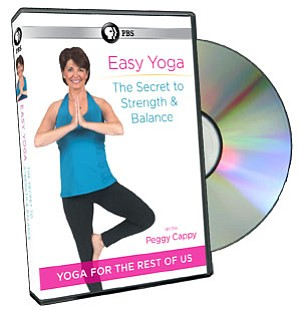 easy yoga the secret to strength and balance with peggy
