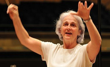 World renowned Venezuelan choral conductor Maria Guinand.