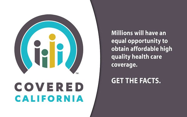 Covered California is the state's online health insurance exchange.