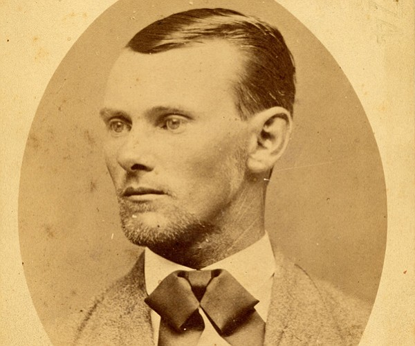 Creator of his own fame, Jesse James painted himself as a defender of souther...