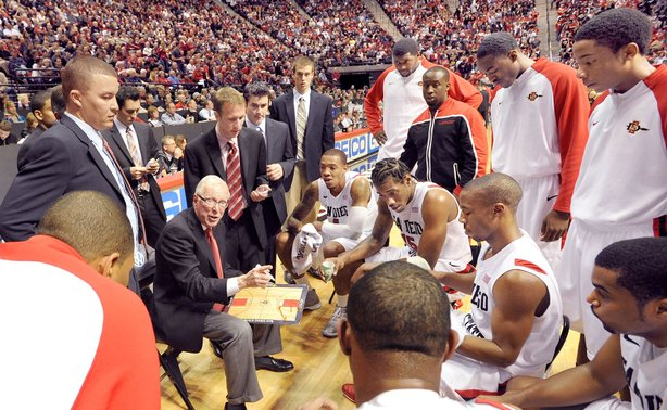 Steve Fisher's San Diego State Aztecs are in the NCAA tournament for the fifth straight year.