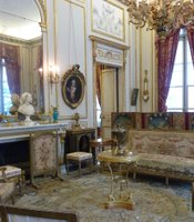 Interior of Musee Nissim de Camondo, Paris, France.