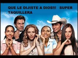 "Qué le dijiste a Dios? is a film about the Mexican ""1 percent"" in Bollywood style."