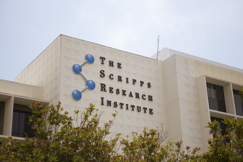 The exterior of The Scripps Research Institute in La Jolla is shown in this u...