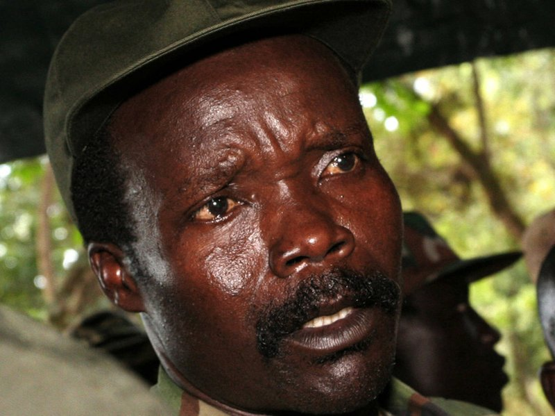 The leader of the Lord's Resistance Army, Joseph Kony, in 2006.