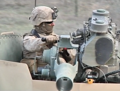 Camp Pendleton Marine during training