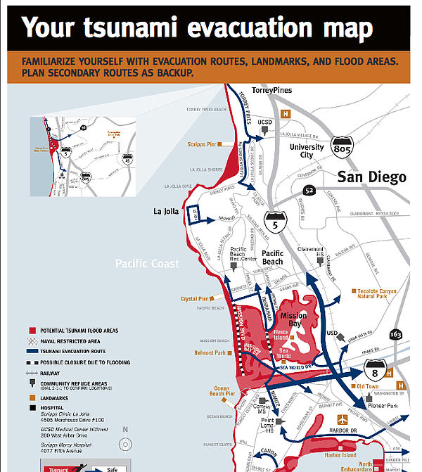 Using new information developed by California disaster ex...