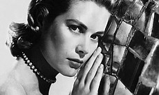 Portrait of Grace Kelly while she was Alfred Hi...