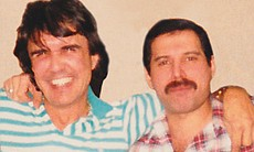 Dave Clark and Freddie Mercury. (37013)