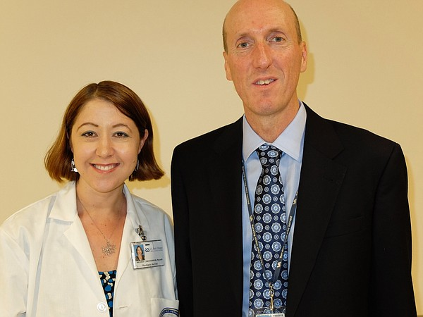 Drs. Melissa L.D. Christoper and James Michelsen are leading the efforts at V...